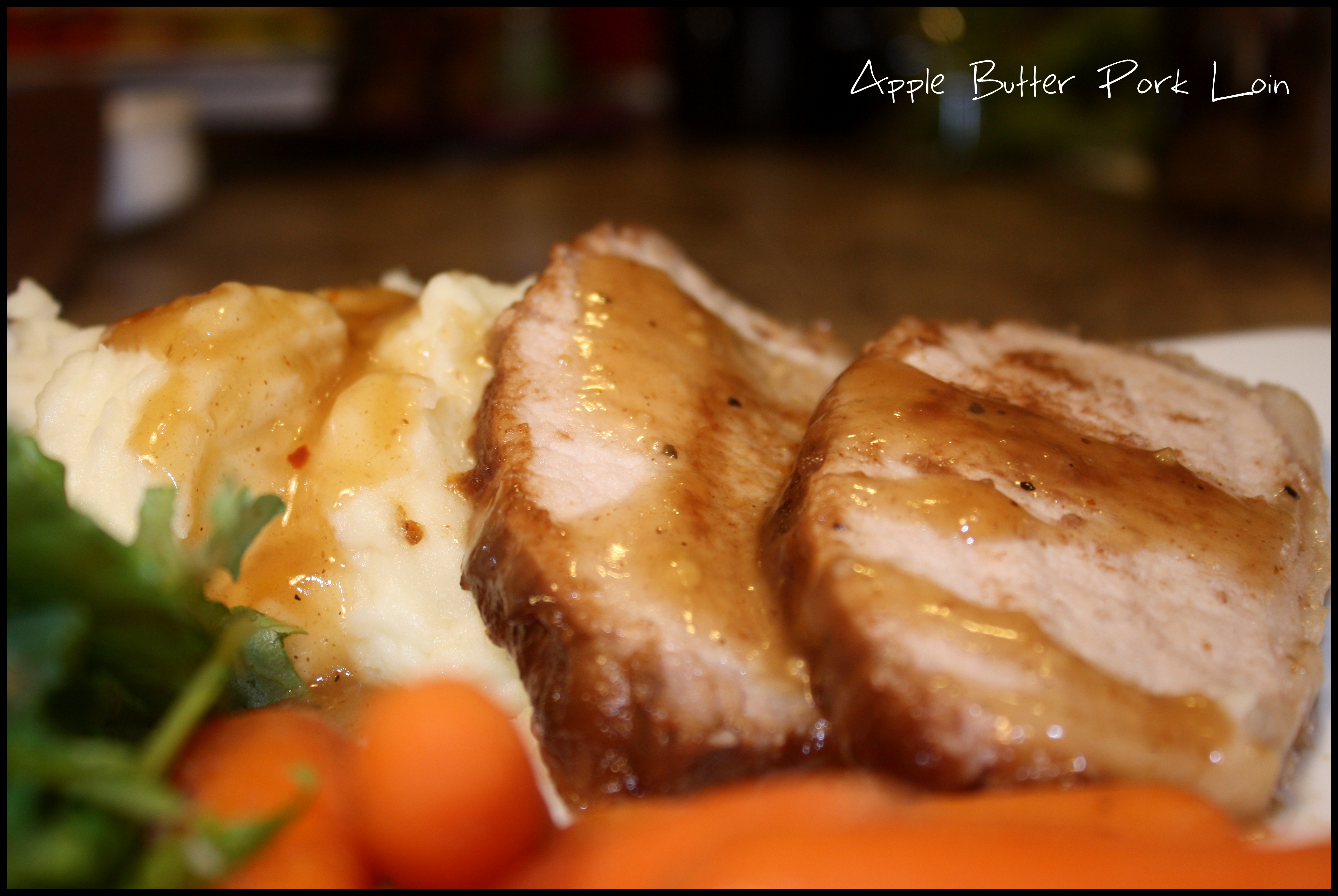 ... with a recipe for Apple Butter Pork Loin} | Come Sit in My Kitchen